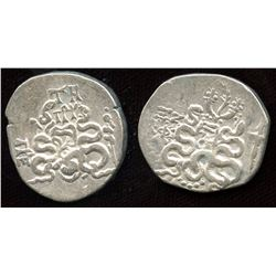 ASIA MINOR. AR Cistophoric Tetradrachm. Lot of 2