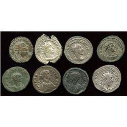 Roman Imperial - 3rd Century Antoninianus Group. Lot of 8