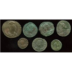 Roman Imperial - 4th Century AE Group. Lot of 7