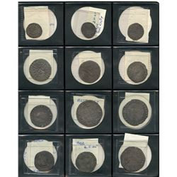 British Hammered Coin Lot of 12 Coins