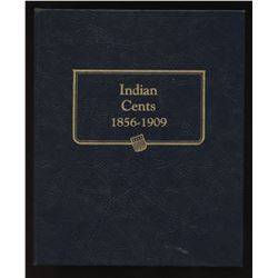Whitman Classic coin album of USA Indian Cents