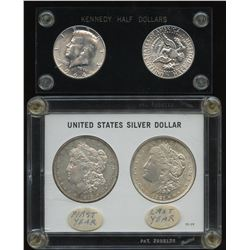 United States: Silver Dollar First and Last Set