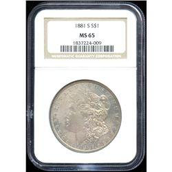 USA Morgan Dollar, 1881-S
