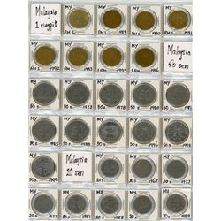 H. Don Allen Collection - World Coin Collection - Don's Personal Travel Collection. Lot of 198