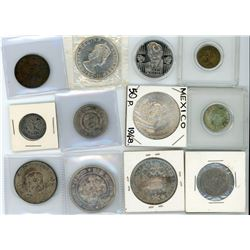 H. Don Allen Collection - Better World Coin Group. Lot of 12