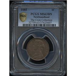 1885 Newfoundland One Cent