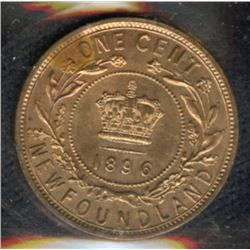 1896 Newfoundland One Cent