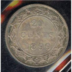 1899 Newfoundland Twenty Cents