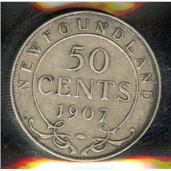 1907 Newfoundland Fifty Cents