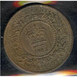 1862 Nova Scotia One Cent
