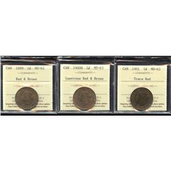 One Cent ICCS Graded Trio