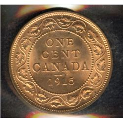 1915 One Cent - Ex: Landon Collection
