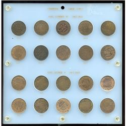 Large Cent Collection 1902-1920