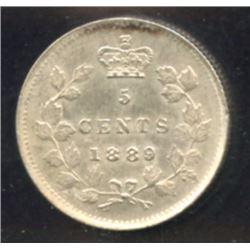 1889 Five Cents