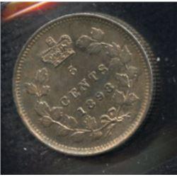 1898 Five Cents
