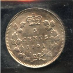 1901 Five Cents