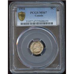 1916 Five Cents
