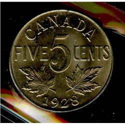 1928 Five Cents