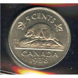 1938 Five Cents