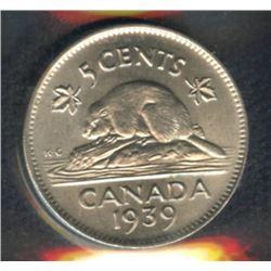 1939 Five Cents