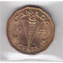1943 Five Cents