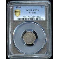 1889 Ten Cents - Key Date