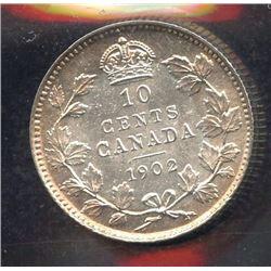1902 Ten Cents