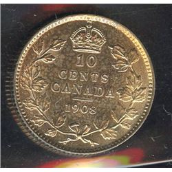 1908 Ten Cents