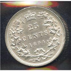 1894 Twenty-Five Cents