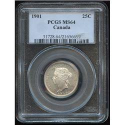 1901 Twenty-Five Cents