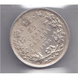 1905 Twenty-Five Cents