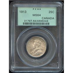 1913 Twenty-Five Cents