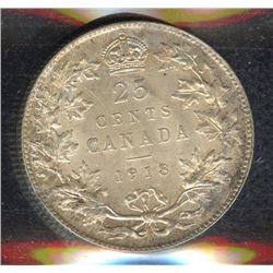 1918 Twenty-Five Cents