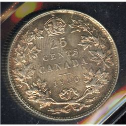 1920 Twenty-Five Cents