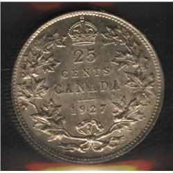 1927 Twenty-Five Cents