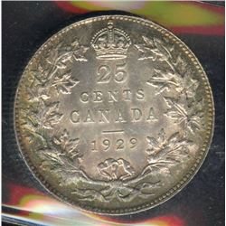 1929 Twenty-Five Cents