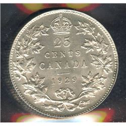1929 Twenty-Five Cents