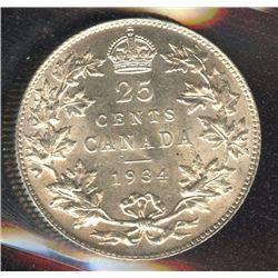 1934 Twenty-Five Cents