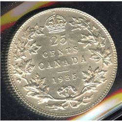 1935 Twenty-Five Cents