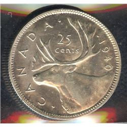 1940 Twenty-Five Cents