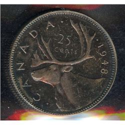 1948 Twenty-Five Cents