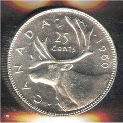 1950 Twenty-Five Cents