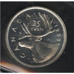 1953 Twenty-Five Cents