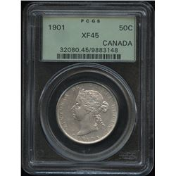 1901 Fifty Cents