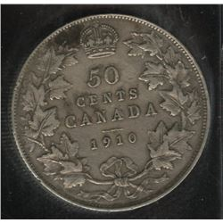 1910 Fifty Cents