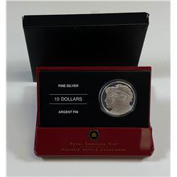 2005 Year of the Veteran $10 Fine Silver