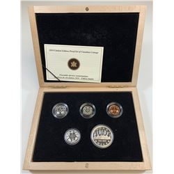2010 Limited Edition Proof Set of Canadian Coinage