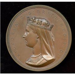 1867 Canadian Confederation Bronze Medal, LeRoux # 1185