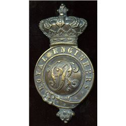 Corps of Royal Engineers Victorian Cap Badge