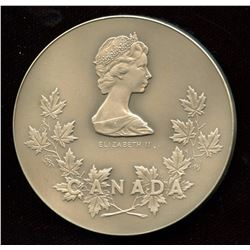 Government of Canada Long and Efficient Service Silver Medal